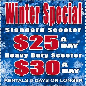 scooter rental orlando winter special discount